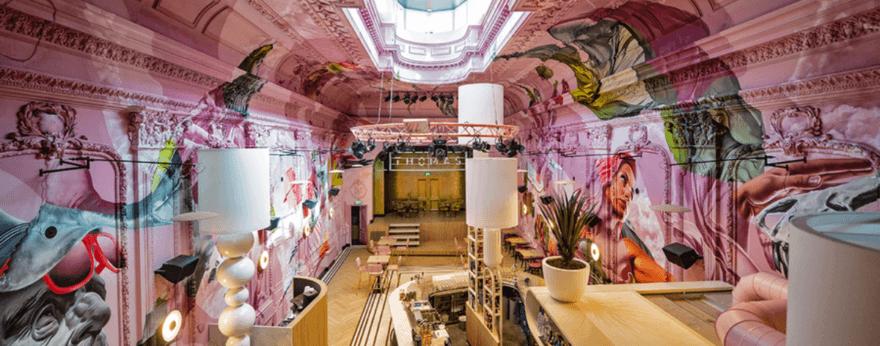Studio Giftig intervino un edificio histórico en Eindhoven