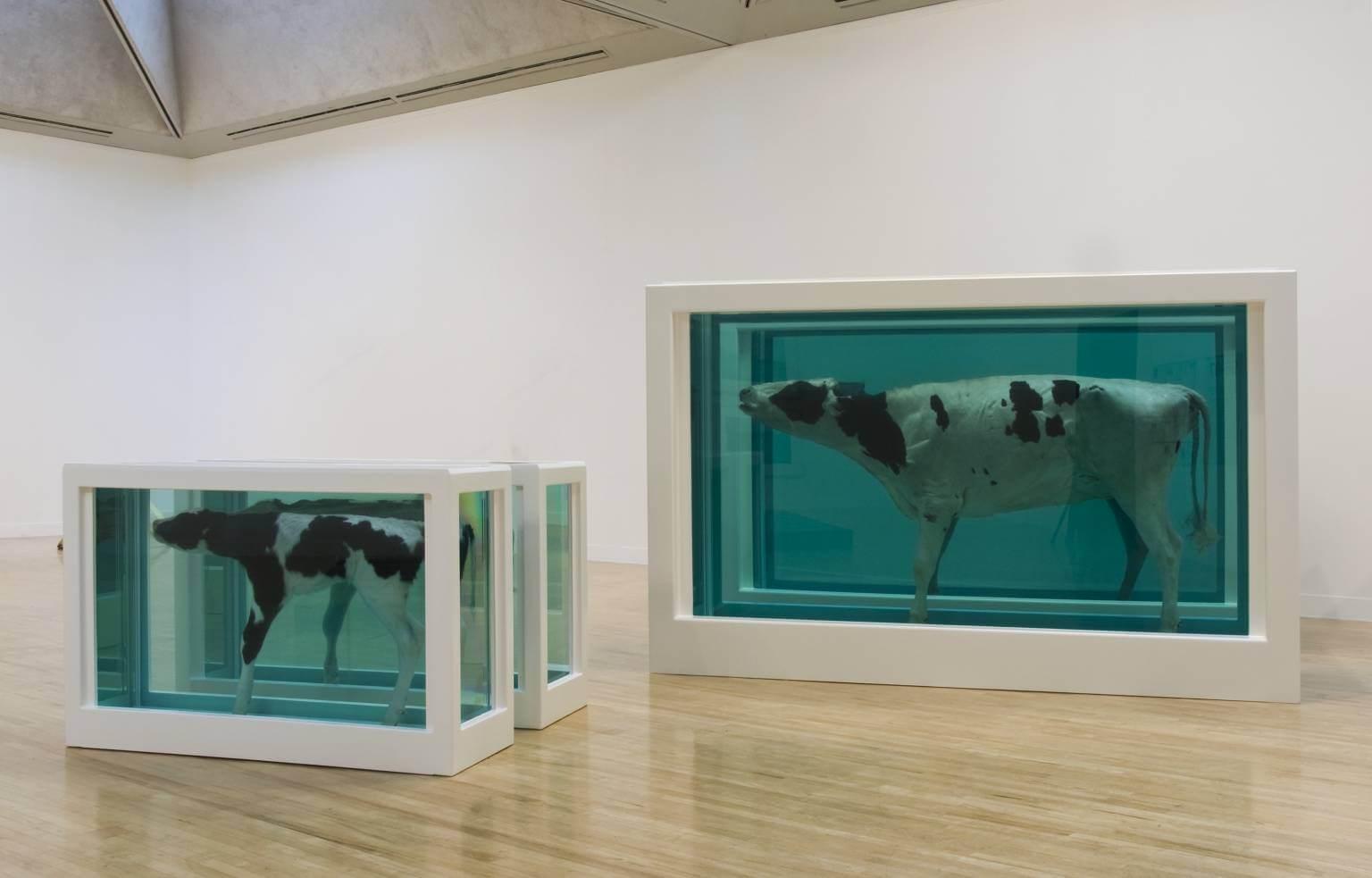 Obras de Damien Hirst pierden valor