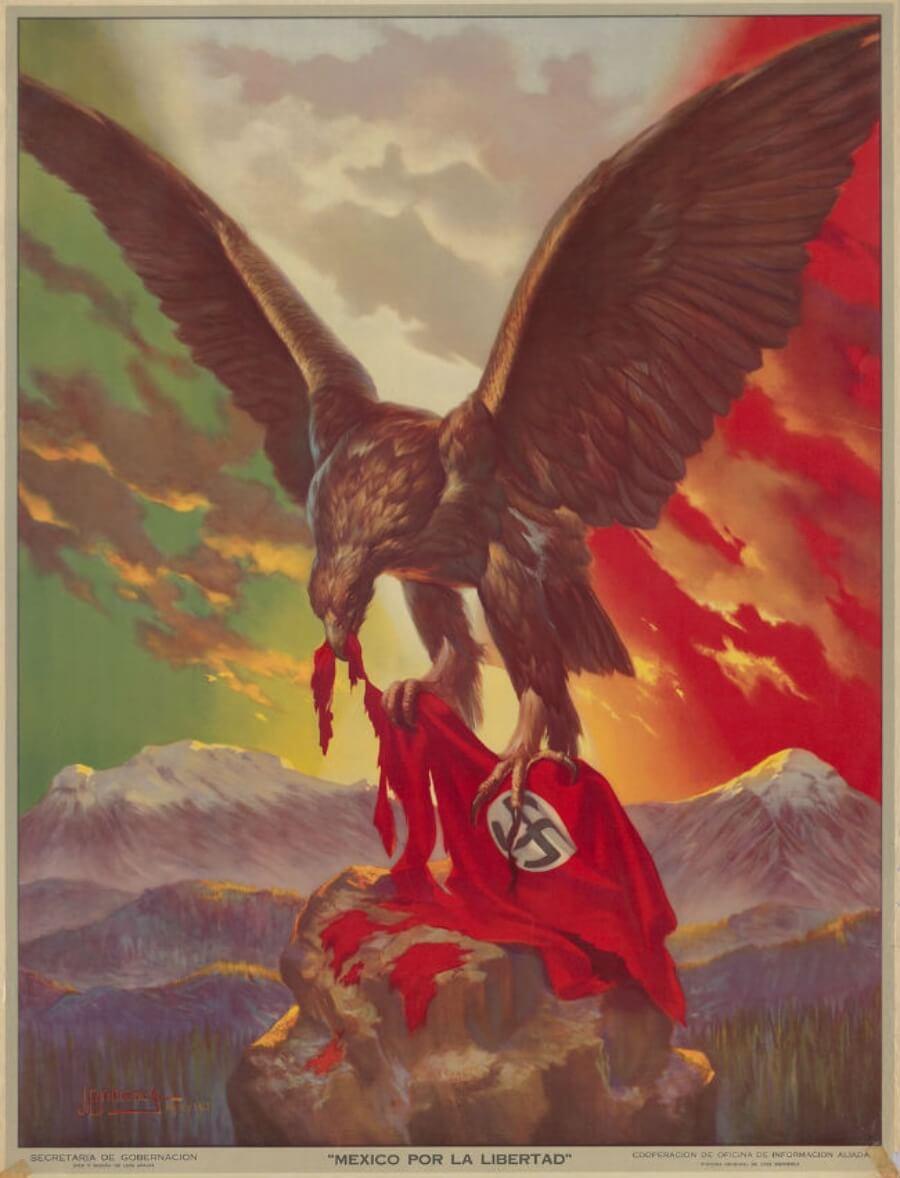 Diseños de carteles México movimientos sociales