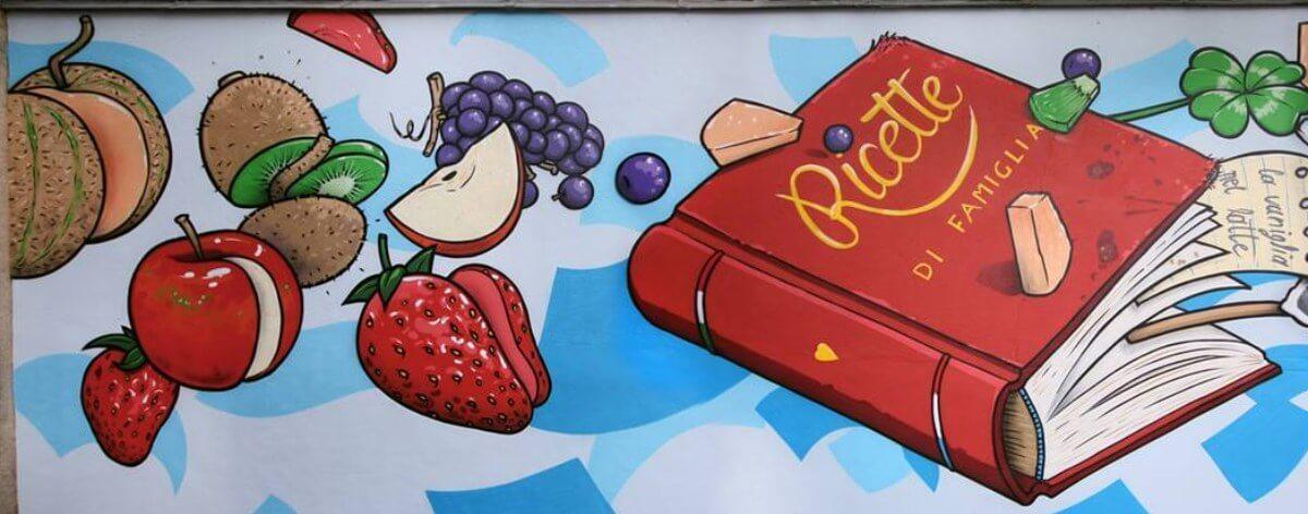 Cibo convierte las calles en graffitis gastronómicos