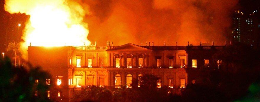 El Museo Nacional de Río de Janeiro está de luto