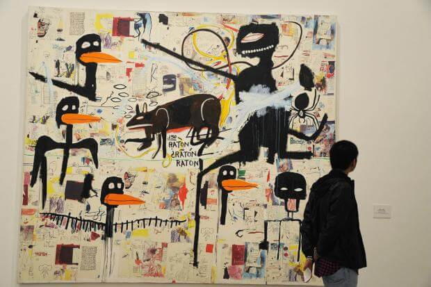 Pintura de Jean Michel Basquiat