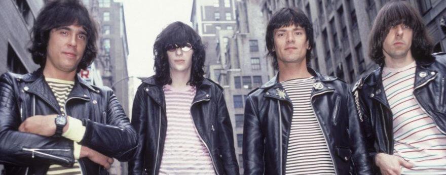 The Ramones con un video inédito