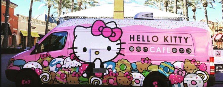 Hello Kitty y su food truck regresan a NY