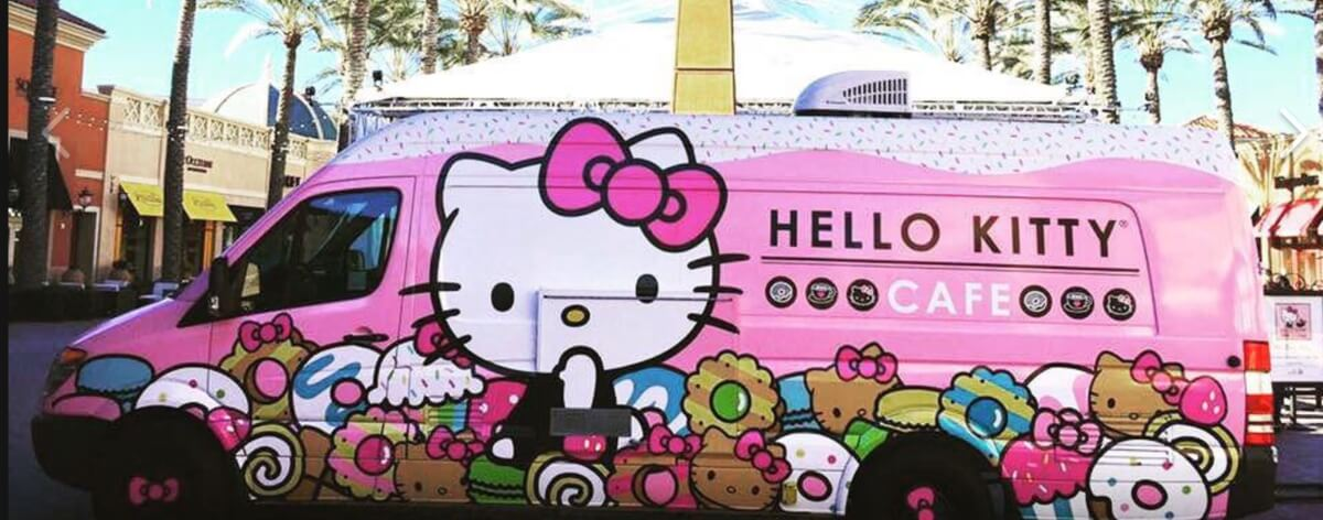 Hello Kitty y su food truck regresan a NY
