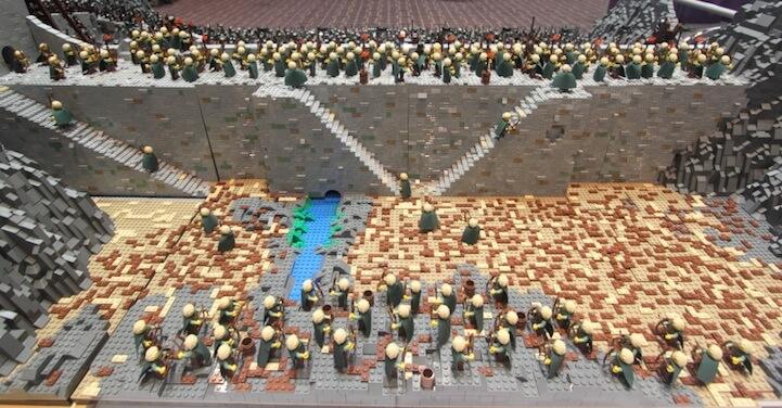 Lego-Helm's Deep