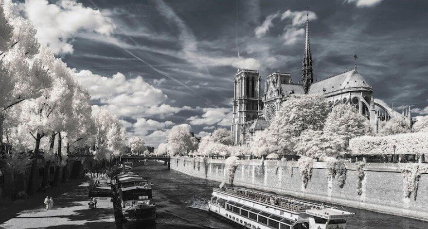 Pierre-Louis Ferrer y su fotografía ultravioleta e infrarroja