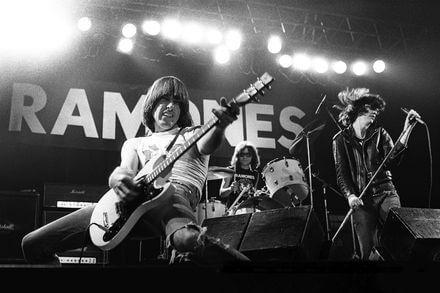 The Ramones en concierto