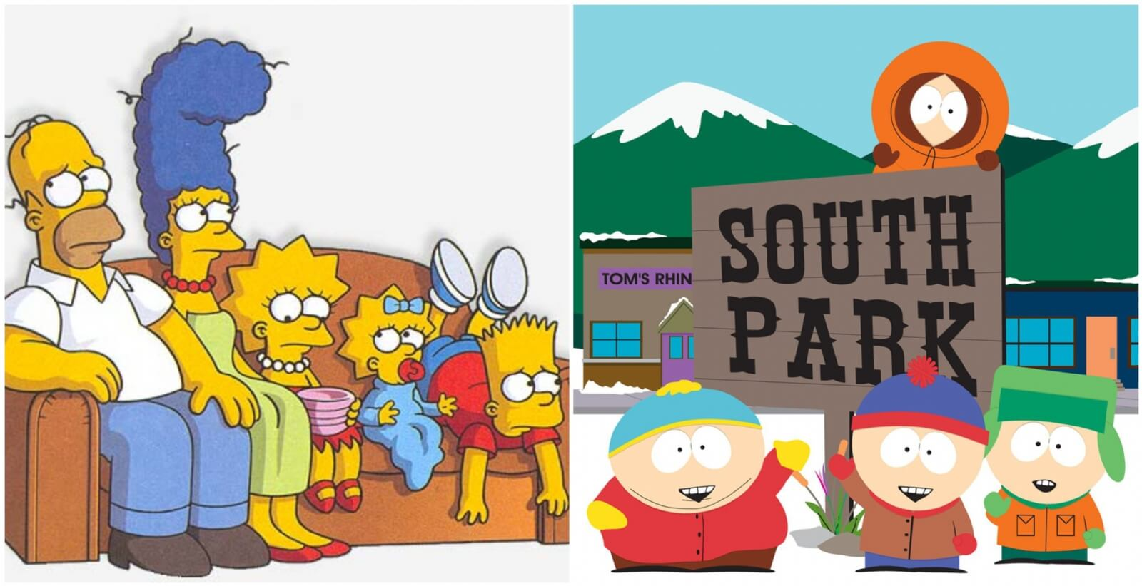 The Simpsons / South Park