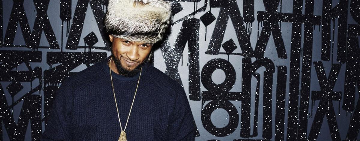 Nuevo álbum de Usher tras dos años de ausencia
