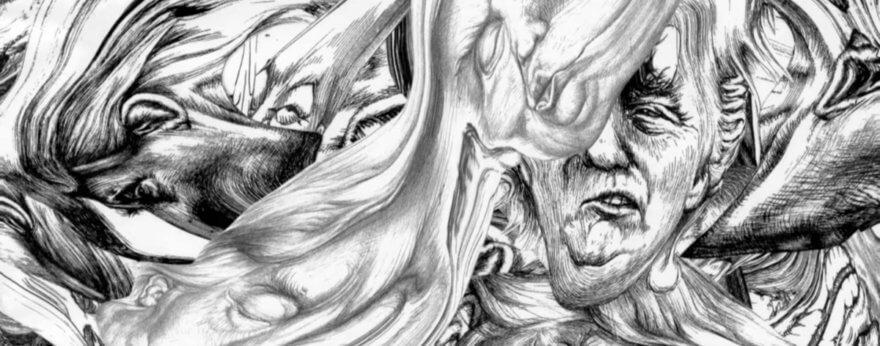 Donald Trump: distorsionado en obras de Jim Shaw