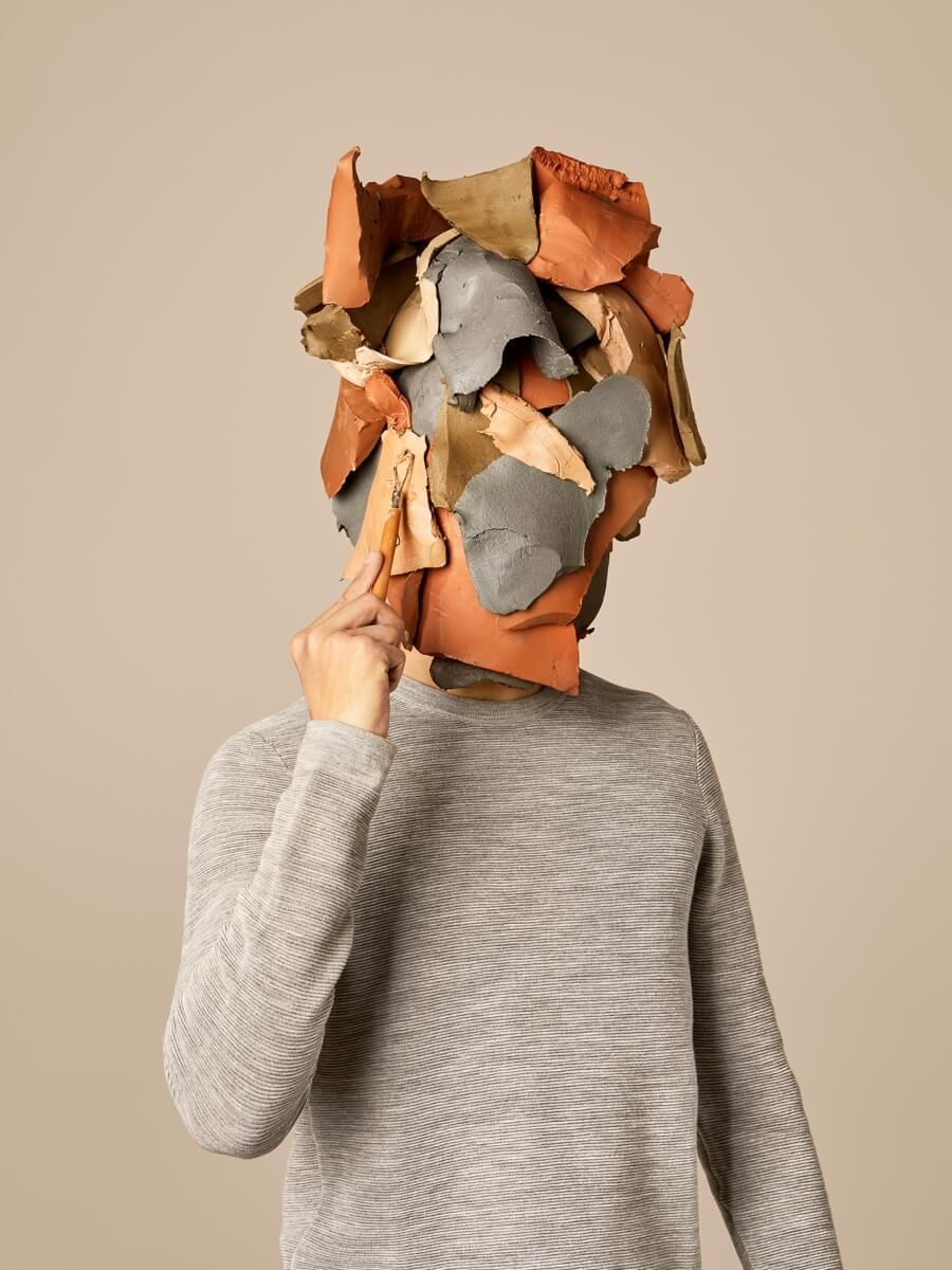 estudio creativo de París hace retratos con artesanías - ACC