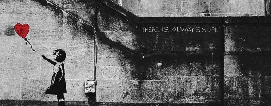 Banksy autodestruye una de sus obras