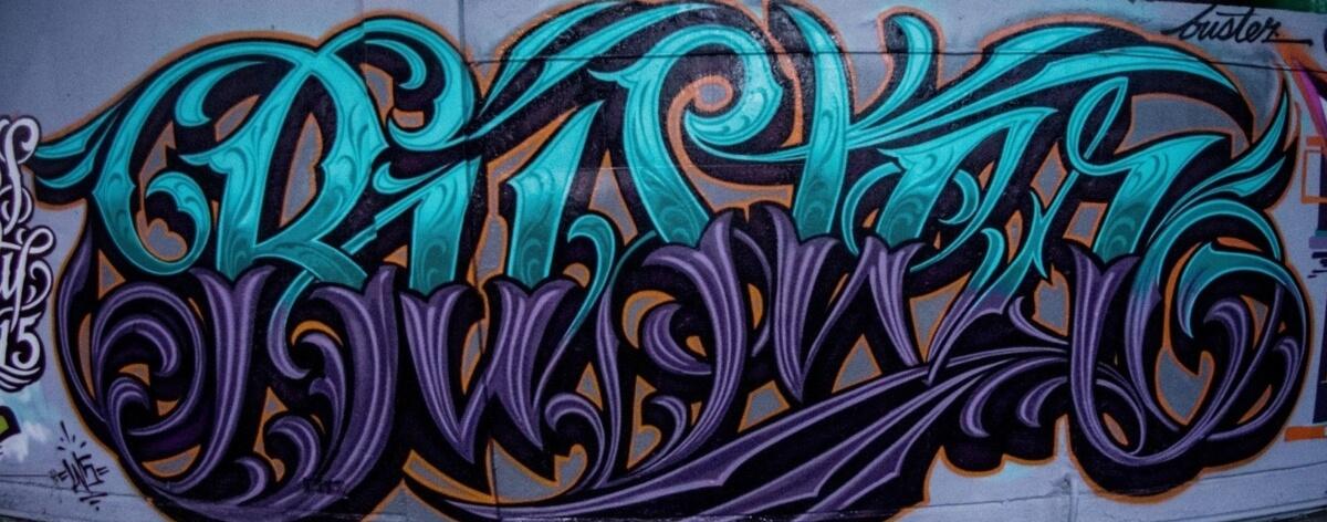 Buster Duque y sus mejores graffitis en México