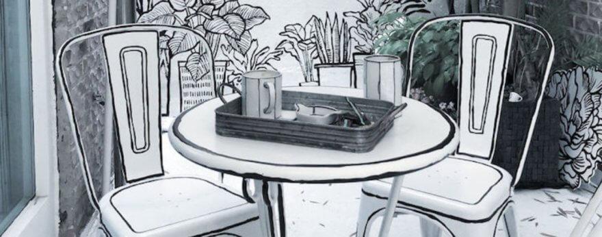 CAFE 239-20, una mezcla del cómic y la realidad