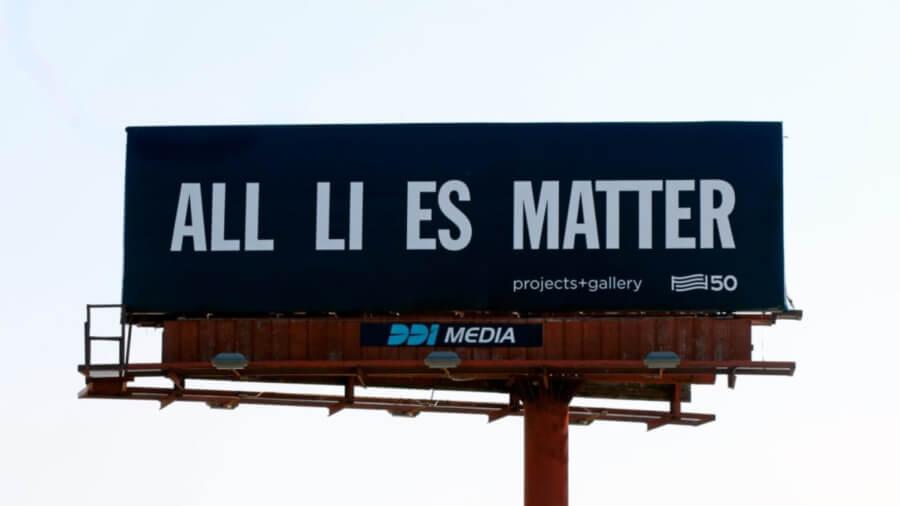 Arte en carteles para elecciones en Estados Unidos - ACC