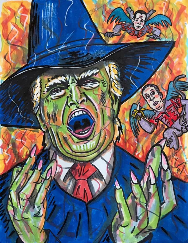 La pintura de Trump de la que todo el mundo habla - ACC