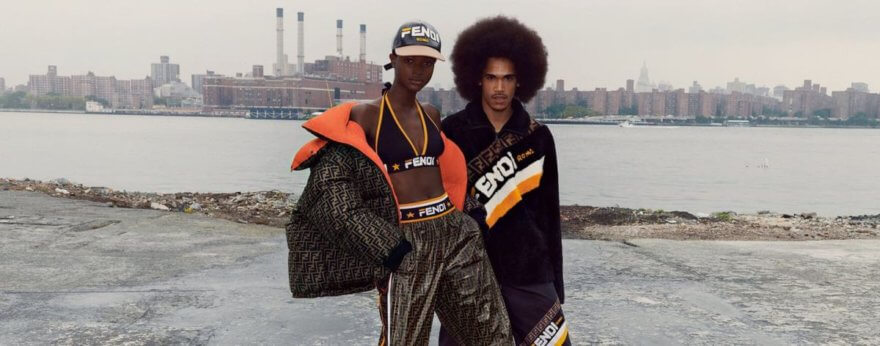 Fendi y Fila unen la pasarela con la moda deportiva