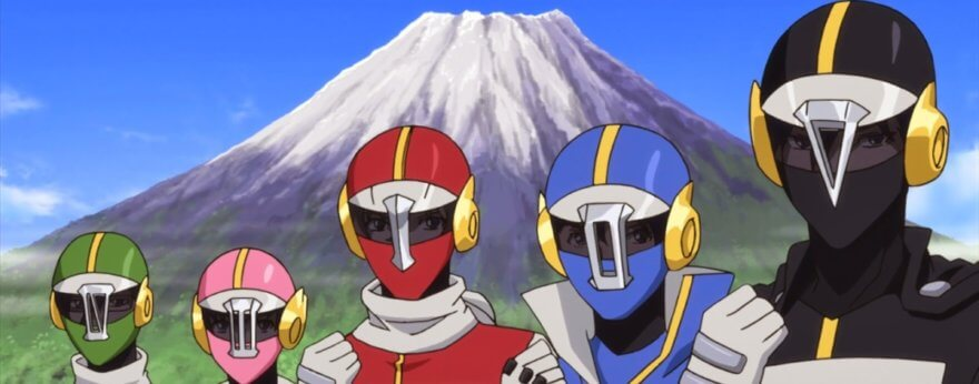 Power Rangers ¡saltan al anime!