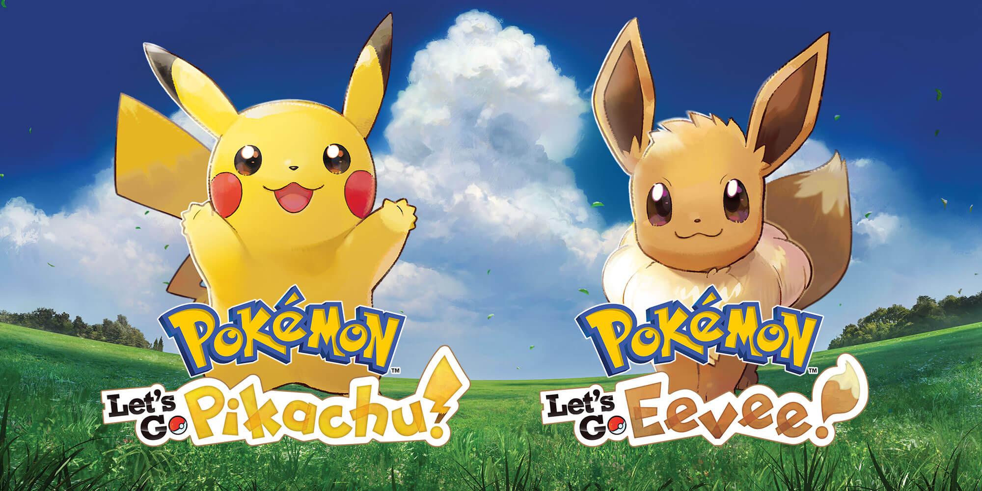 Pikachu& Eevee