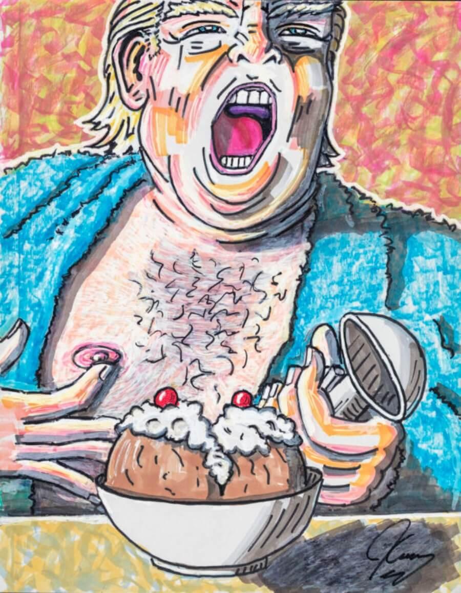 Caricaturas políticas hechas por Jim Carrey - ACC