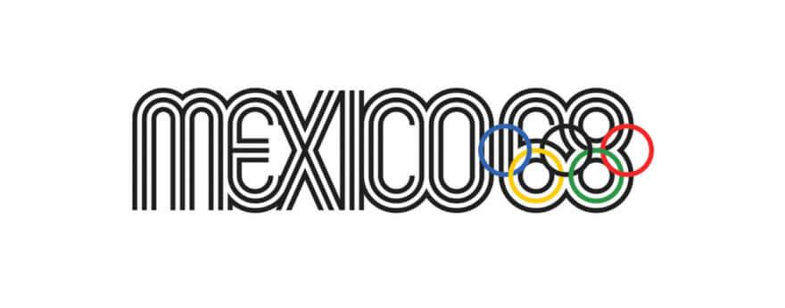 Vanguardista la identidad visual en México 1968