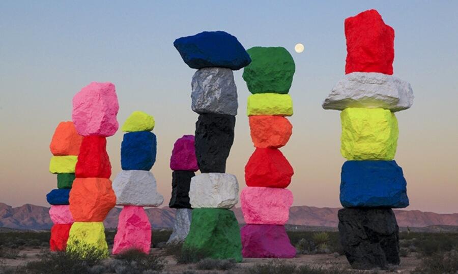 Las rocas de Ugo Rondinone en Liverpool - ACC