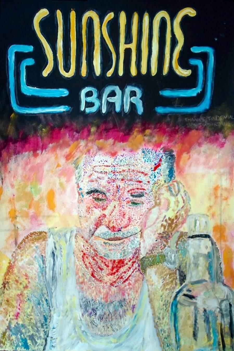 Barman hace retratos de clientes que beben mucho - ACC