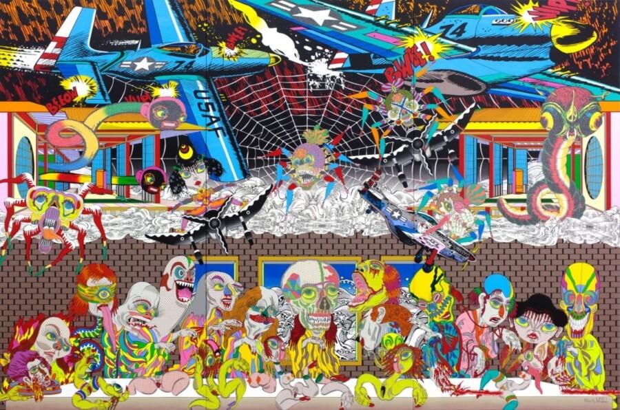 Alucinaciones y catarsis en las obras de Keiichi Tanaami - ACC