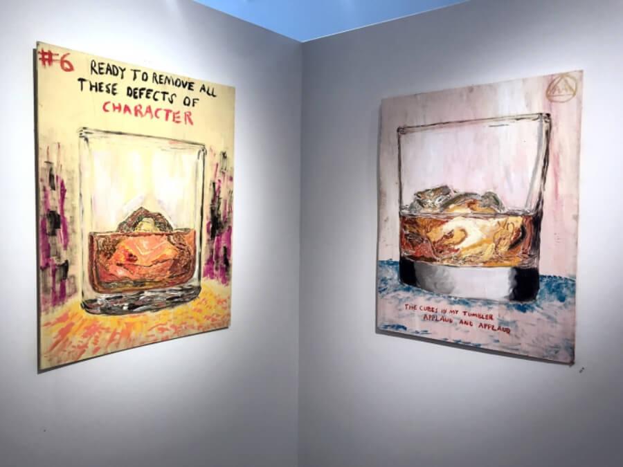 Barman hace pinturas de los clientes que beben mucho - ACC