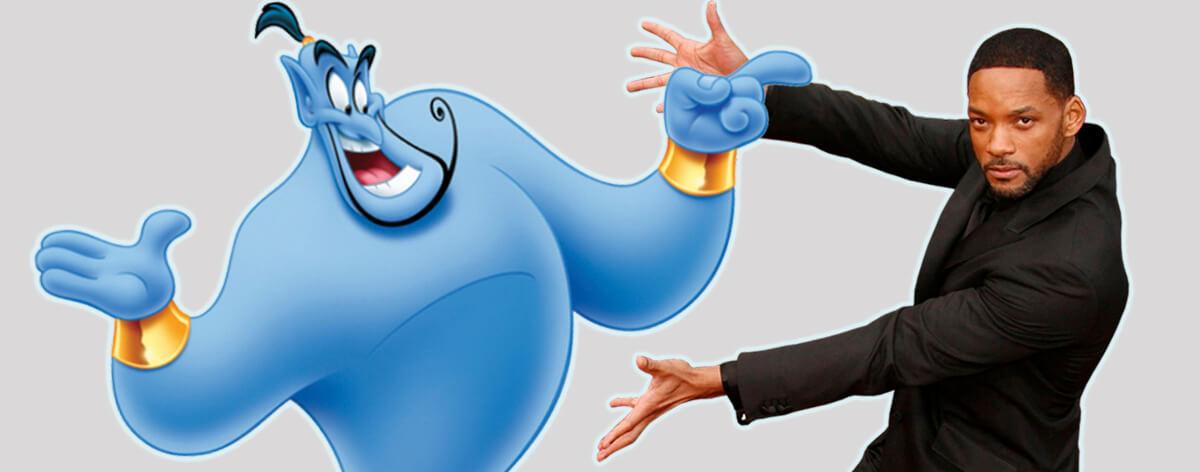 Will Smith es el genio de Aladdin en remake