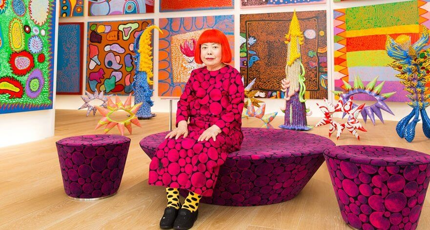 """Yayoi Kusama llega a Londres con """" The Moving Moment When I Went to the Universe"""""""