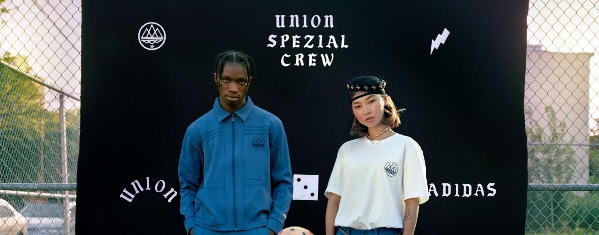 Adidas SPEZIAL x Union fusionan talentos