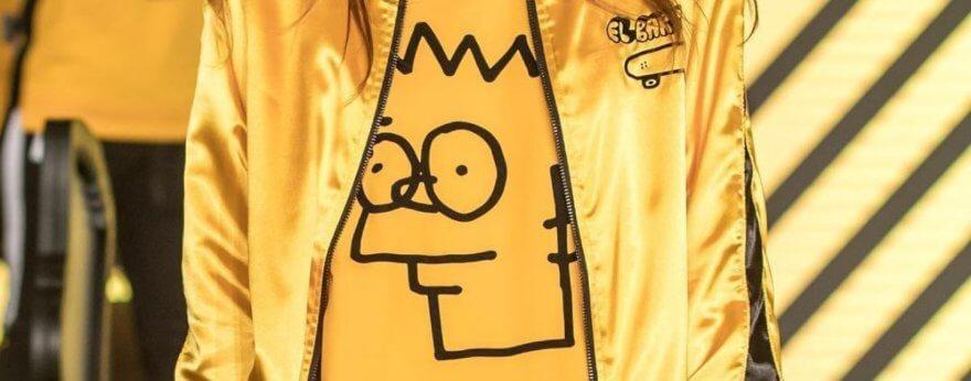 Anuar Layón presenta ropa inspirada en Los Simpsons