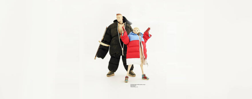 Ashley Wood y figuras coleccionables de Die Antwoord