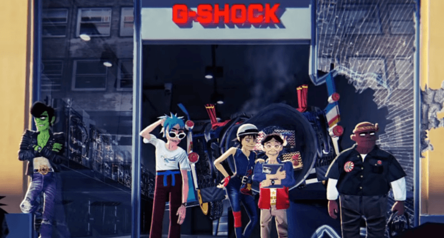 Gorillaz y G-Shock lanzan su segundo capítulo juntos