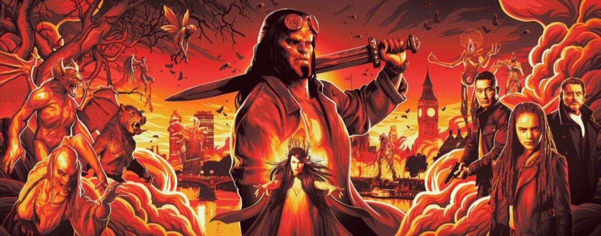 Hellboy se prepara para llegar durante el 2019