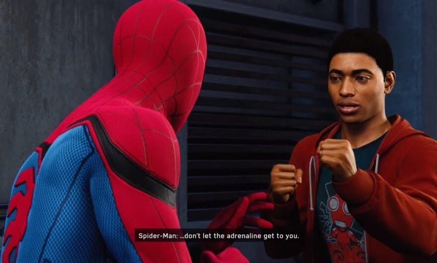 Spider Man: Into the Spider Verse