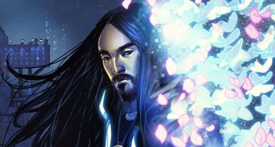 Steve Aoki presenta su cómic Neon Future