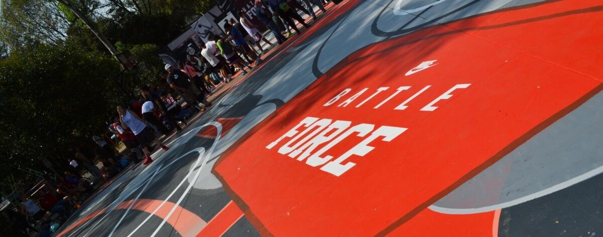 Nike Battle Force, cultura, básquetbol y street art