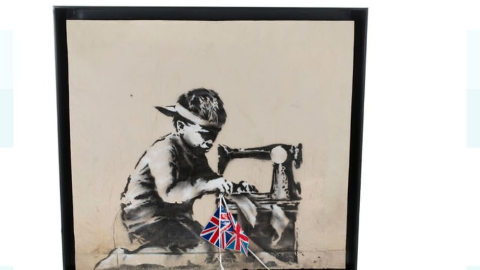 Ron English Banksy Slave Labor