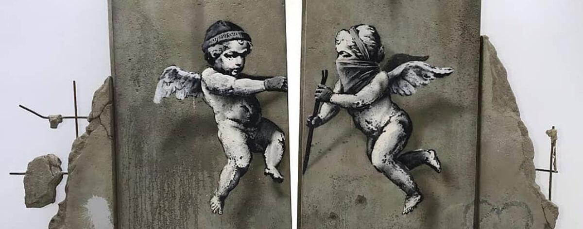 Banksy repartió arte gratuito a la industria turistica