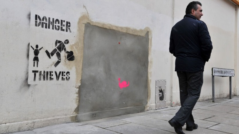 Ron English Banksy obra