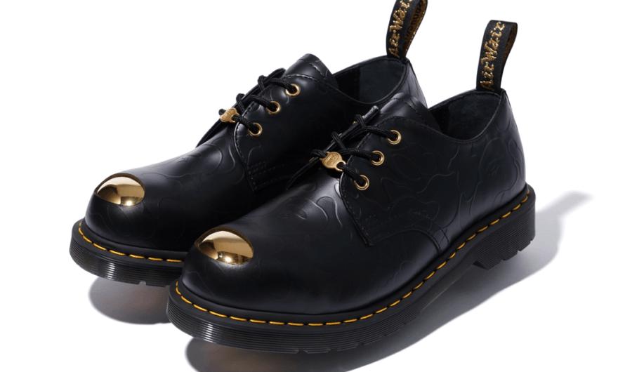zapatos colaborativos de Bape y Dr. Martens