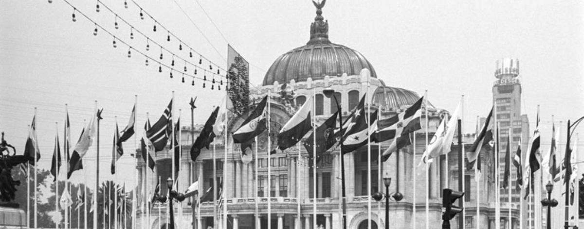 Bob Schalkwijk y sus fotografías de México en 1968