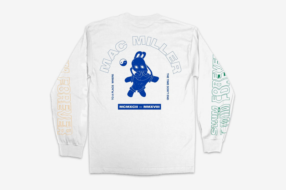 Camiseta Swim Forever