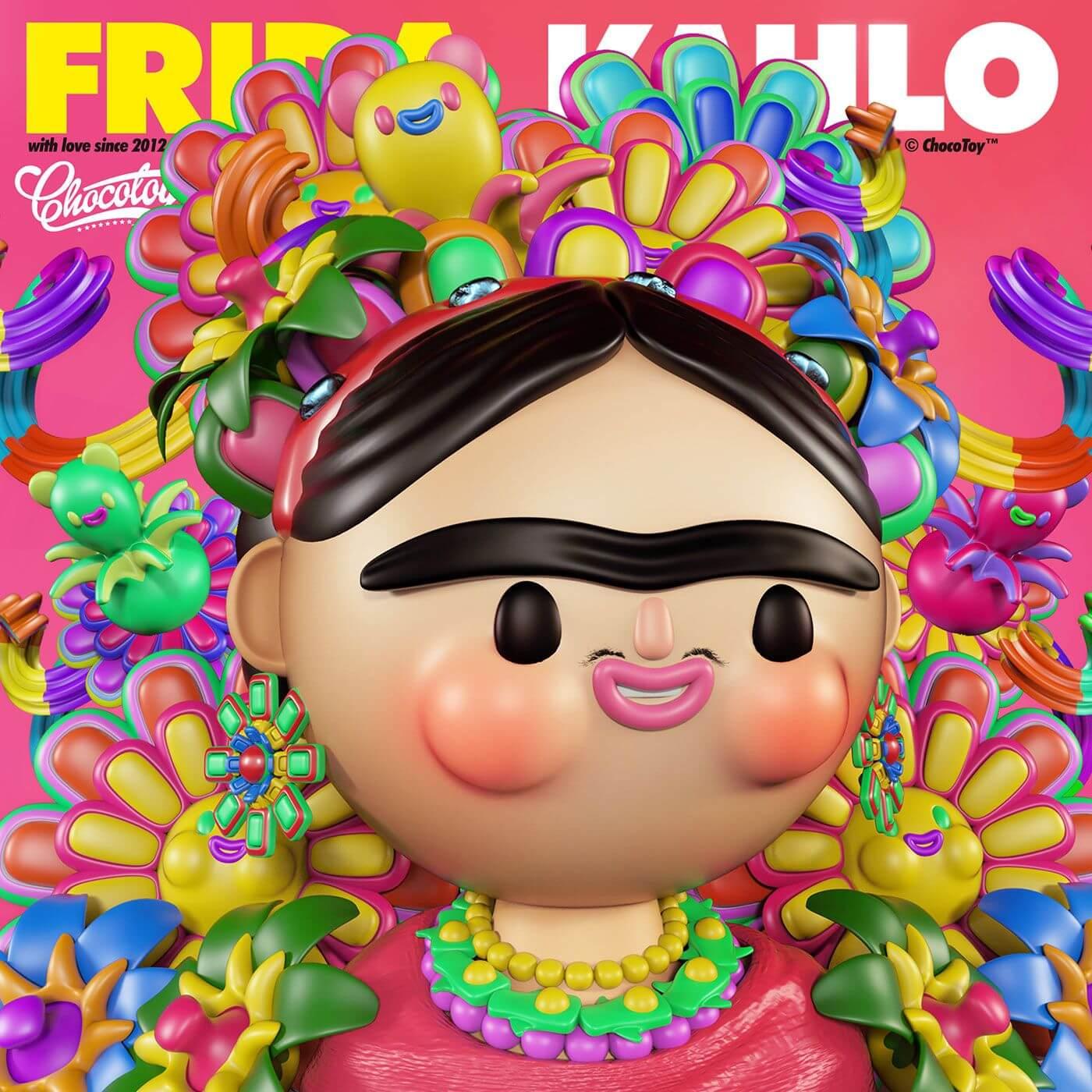 Chocotoy Frida Khalo