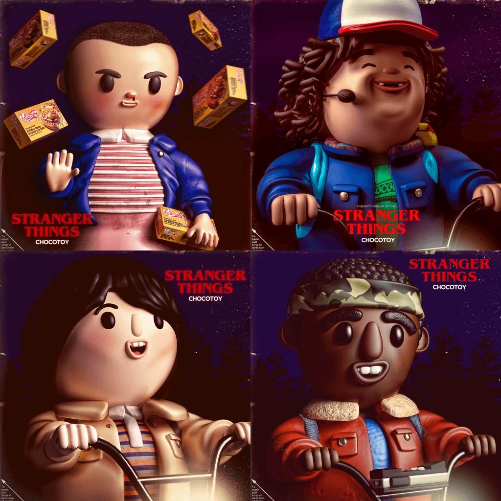 Chocotoy Stranger Things