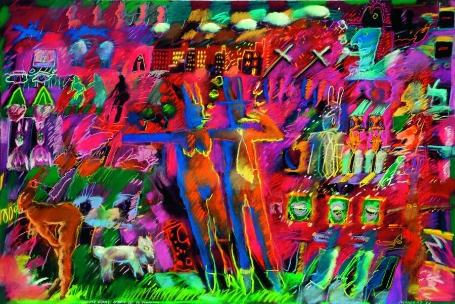 Arte chicano en el Museo de Arte Carrillo Gil - ACC