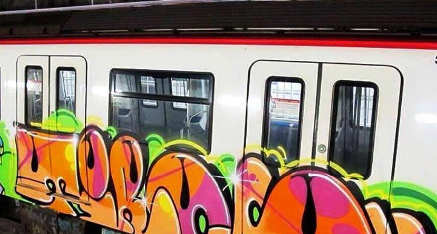 Sentencian a un año de cárcel a grafitero